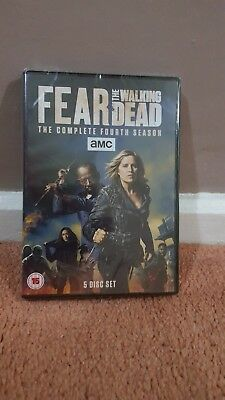 Fear The Walking Dead Complete Series / Season 4 (UK Region 2 DVD boxset)