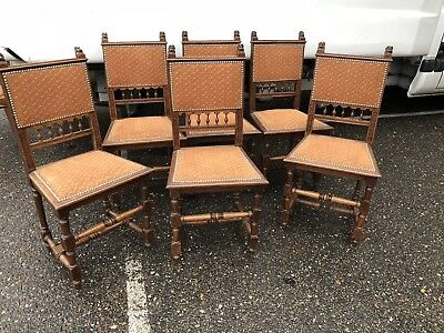 Dining Chairs Set Of 6 French Antique