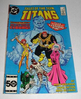 Tales of the Teen Titans DC Comic 56