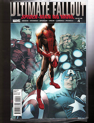 Ultimate Fallout #4 1st Miles Morales Spider-Man 1st Print Sealed in Polybag NM