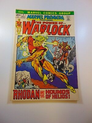 Marvel Premiere #2 w/ Warlock FN condition Huge auction going on now!