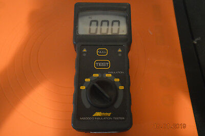 Metrotest M2000d insulation tester