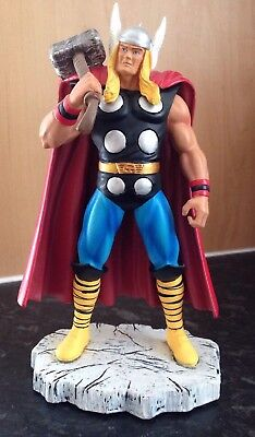 Marvel Comic Heroes Thor Hand Painted Metal Statue Corgi Classic Limited Edition