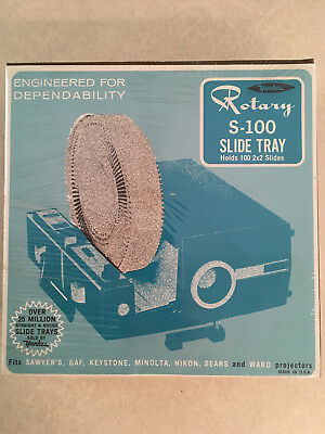 Yankee S-100 Rotary Projector Slide Tray, New In Sealed Box