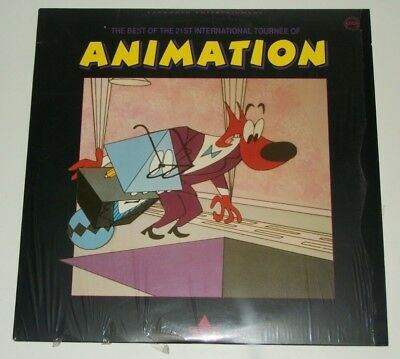 1993 The Best of 21st International TOURNEE OF ANIMATION LaserDisc Adults MINT