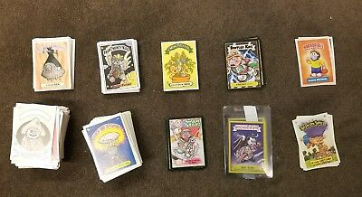 Lot f bootleg GPK Garbage Pail Kids: Lunchbox Leftovers Melty Misfits & MORE