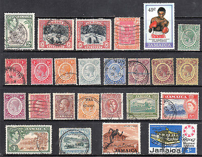 Jamaica Stamps From 1900 And Later