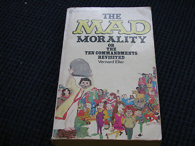 The Mad (Magazine) Morality The Ten Commandments Revisited-Alfred E.Newman-1972