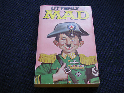 Utterly Mad (magazine) Paperback Book-Alfred E. Newman-Copyright 1963-VINTAGE