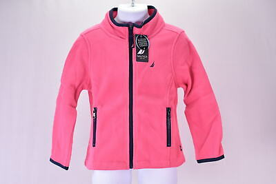 Baby/Toddler Girl's Nautica Zip up Fleece Jacket, Pink