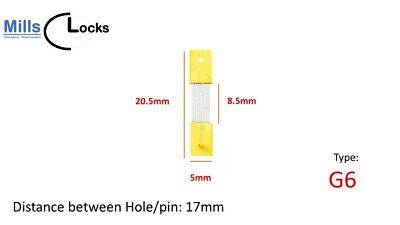 Brass Clock Pendulum Suspension Spring. (Type M) (18mm x 2.5mm x 8mm) UK Seller