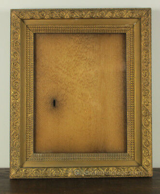 Lg Victorian late 1800's stacked compo frame beautiful ornament and finish FR6