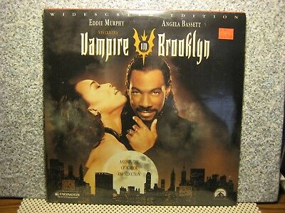 Vampire In Brooklyn--LASERDISC--FACTORY SEALED--Eddie Murphy_Angela Bassett