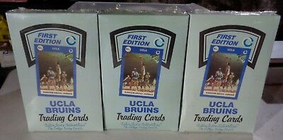 3 UCLA BRUINS All Sports Cards 1st Edition Unopened Boxes 36 packs each Box