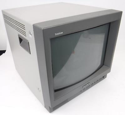 Sony Trinitron PVM-14L1 Color Video CRT Monitor TESTED & WORKING