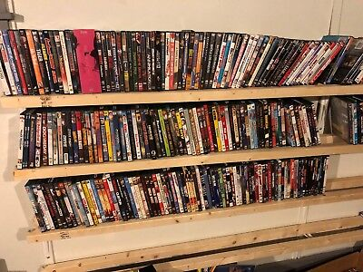 Lot of (1412) DVD's - Pre-Owned.  Pick 12 for $25.00.  Free Shipping Included