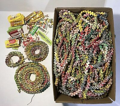 Huge Lot Of 1960'S Gum Wrapper Chain, Clarks, Beechnut, Extra Wrappers, Nr!