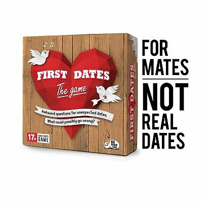 First Dates The Game Adult Theme Risky Super Awkward Party Game Big Potato 17+