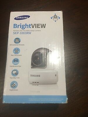 Samsung SEW-3043W Bright VIEW Baby Monitoring System (Camera Only SEP-1003RWN)