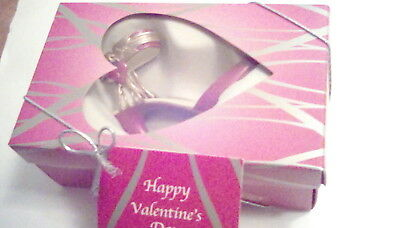 Just the Right Shoe Captive Heart Valentines Mini shoe collectible