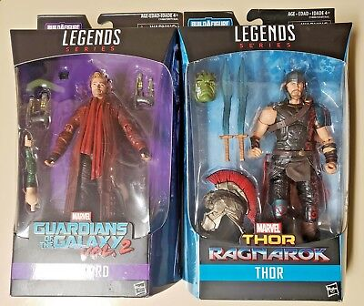 """New Marvel Thor, Starlord Legends Series 6"""" includes parts. Worldwide Shipping!!"""
