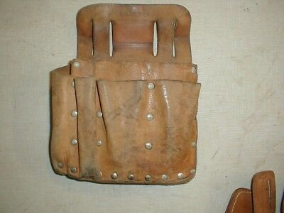 Bell System leather tool pouch