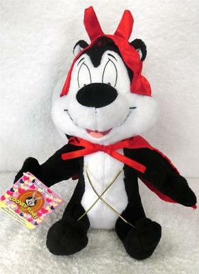 Looney Tunes PEPE LE PEW Dressed as a DEVIL Plush Doll