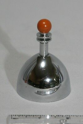 Chase Chrome Art Deco Ming Table Bell