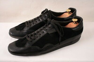 e3ebaab140c4 GUCCI real leather Italian made sneaker suede leather US 10