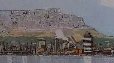 John Carter SMIT 1975 Print Signed And Dated Watercolor & Pencil Cityscape River