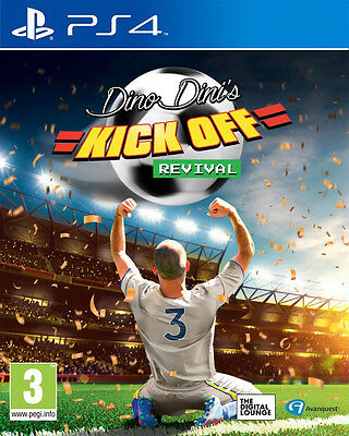 Dino Dini's Kick Off Revival (PS4) BRAND NEW AND SEALED - QUICK DISPATCH