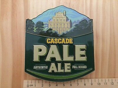 Cascade Pale Ale Lager Beer Tap Decal Top Badge