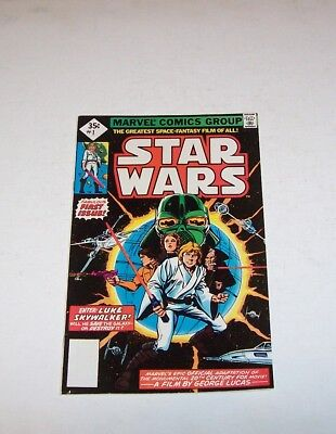 *STAR WARS* #1 First Issue by Marvel Comics- Dated 1977- Grade 9.0  Excellent