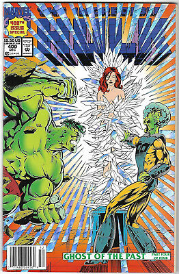 """1992. """"INCREDIBLE HULK"""".  Marvel comic Vol.1. #400. Special Issue. Fine."""