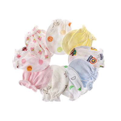 Newborn Handguard  Cotton  Face Protection  Anti Scratch  Mittens Baby Gloves