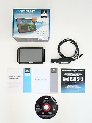 NAVMAN MY350LMT GPS Plus Charger Fit Car LIFETIME Map Maps INCLUDED Perfect Cond