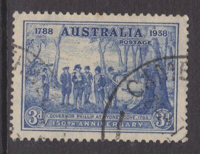 1937 150th Anniv. Of Foundation of NSW 3d Blue FU SG 194 A3A