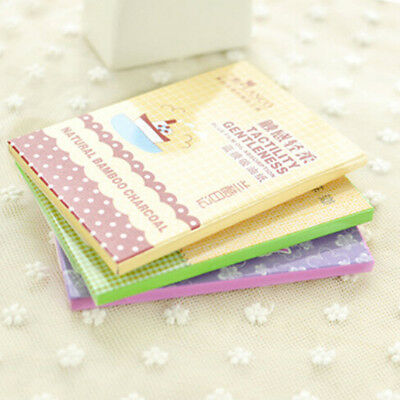 1 Pack Powerful Makeup Facial Oil Control Tissue Oil Absorbing Blotting Paper TI