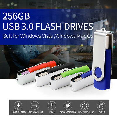 256GB 256G USB3.0 Flash Drive Memory Stick U Disk Pen Storage Thumb for Windows