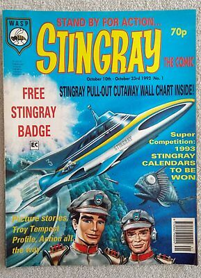 Stingray The Comic Issue 1