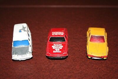 Corgi job lot x 18 1970s/80s vintage incl Capri, Aston Martin DB6, BMW M3