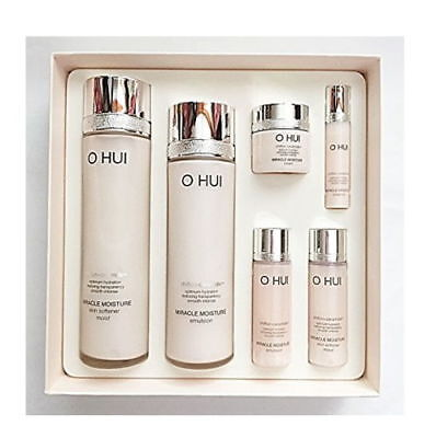 Ohui Miracle Moisture 2pcs Special Gift Set 2018 New Version Korea Beauty