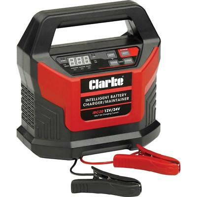 Clarke LATEST IBC15 INTELLIGENT 15A BATTERY CHARGER 12V