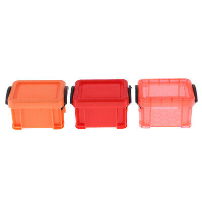 1/6 Scale Candy Color Storage Case for 1/6 Dolls House Furniture Accessory