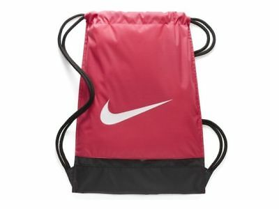 Gym Sac Nike Just Do It BA5338-666 Rosa-Nero 3023e8ae2476