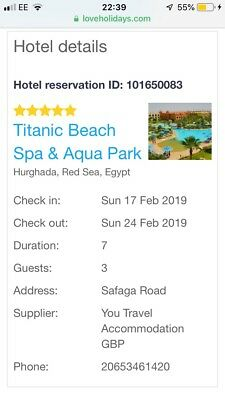 5 Star Holiday To egypt