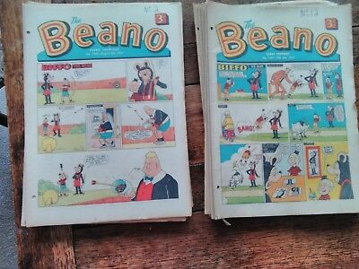 Beano Comics 18 Issues From 1967