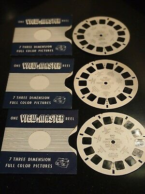 Bundle of Vintage One view master reel  - 3161, 5151 and 2001