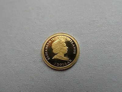 2008 Cook Islands Gold Proof One Dollar