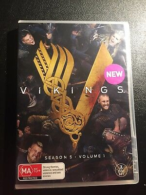 Vikings Season 5 Part One ( DVD 2018 ) BRAND NEW AND SEALED
